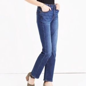 Madewell Crusier Straight Jeans